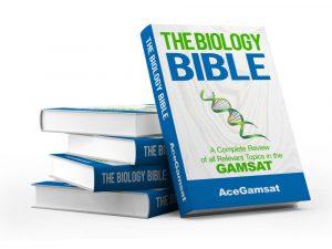 GAMSAT Biology practice questions